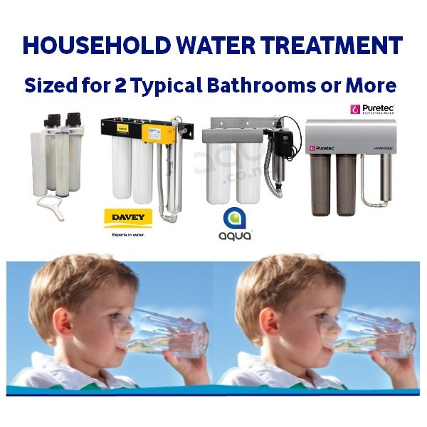 Household Water Treatment 2 + Bathrooms